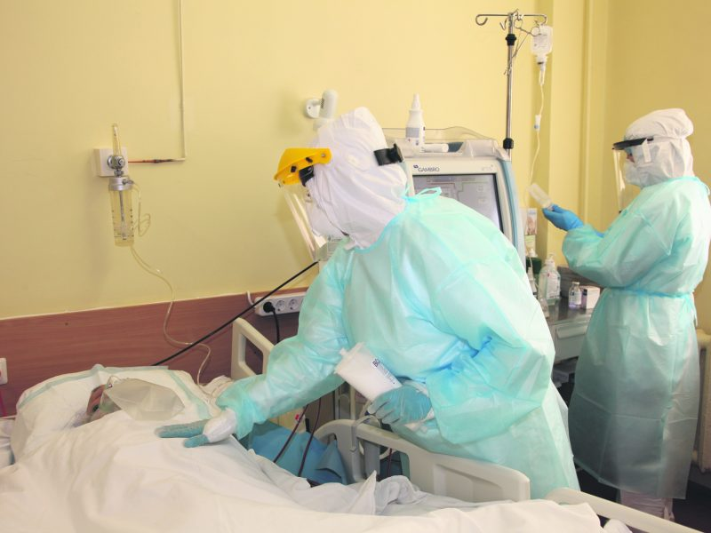 Kovos su koronavirusu priešakinėje linijoje – Klaipėdos universitetinė ligoninė
