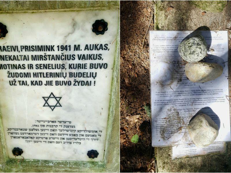 Atgaila už svetimas nuodėmes: žydų bendruomenei – atsiprašymo laiškas