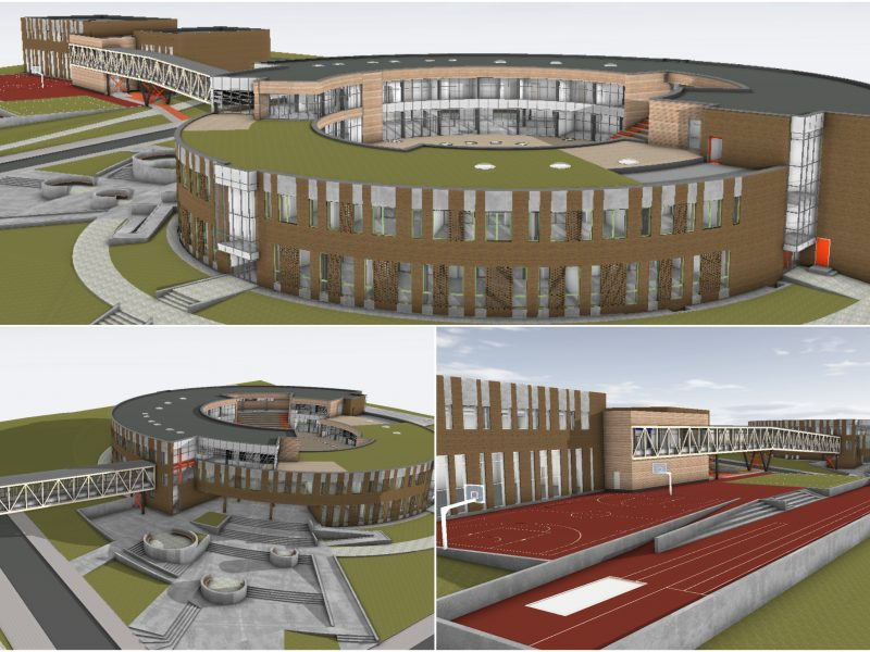 Mokyklos statyba – su kliūtimis: klaipėdiečiams teks apsišarvuoti kantrybe