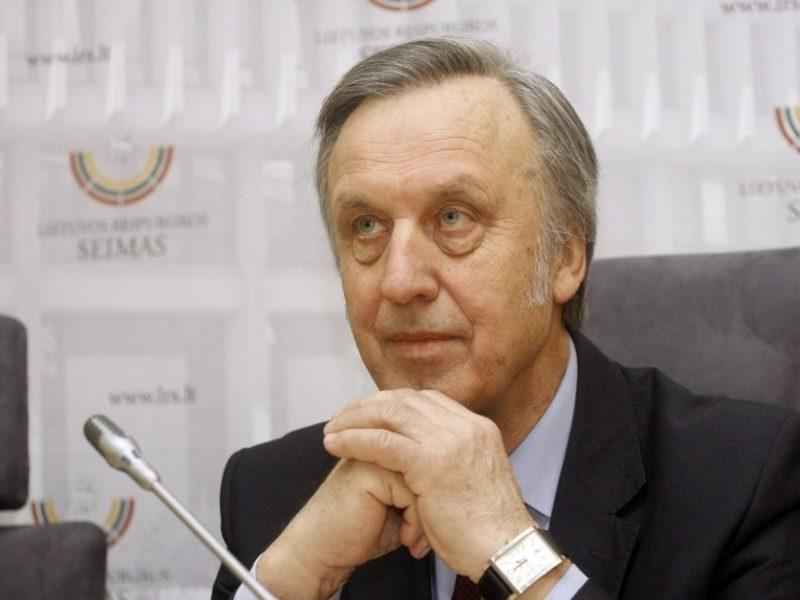 Į Seimą svarstantis grįžti P. Gylys: visada esu korektiškoje opozicijoje