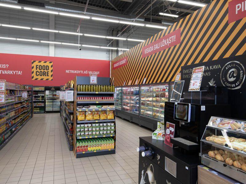 """""""Kesko Senukai"""" plečia prekybą maisto produktais"""