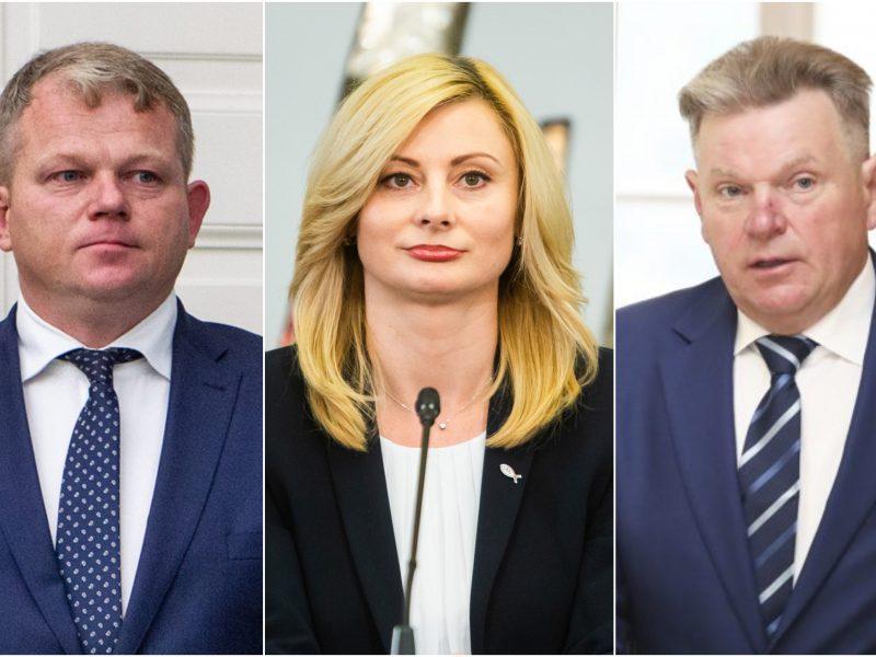 Trys debiutai Vyriausybėje – trys fiasko?