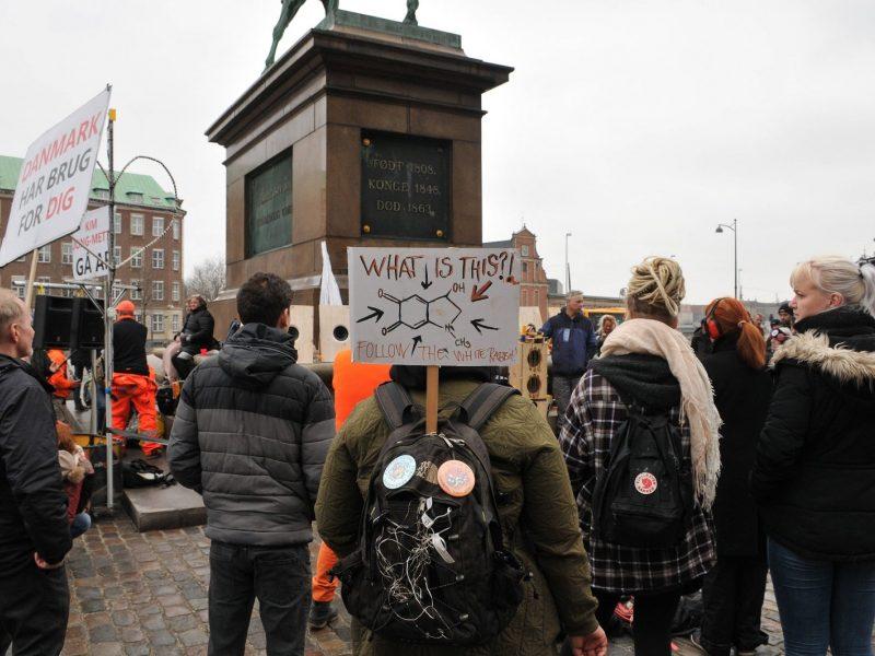 Danijoje per protestus prieš karantiną sulaikyti aštuoni žmonės