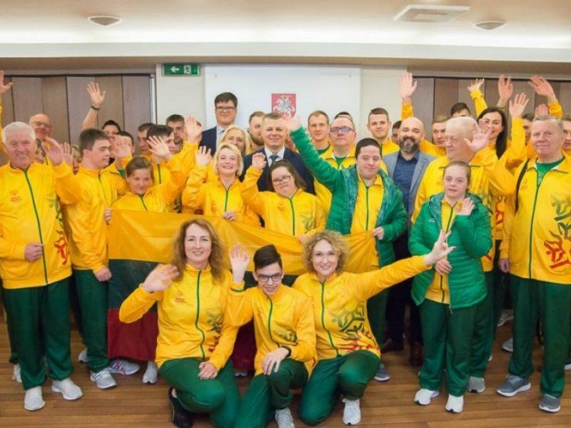 Specialiojoje olimpiadoje Lietuvos sportininkai iškovojo 28 medalius