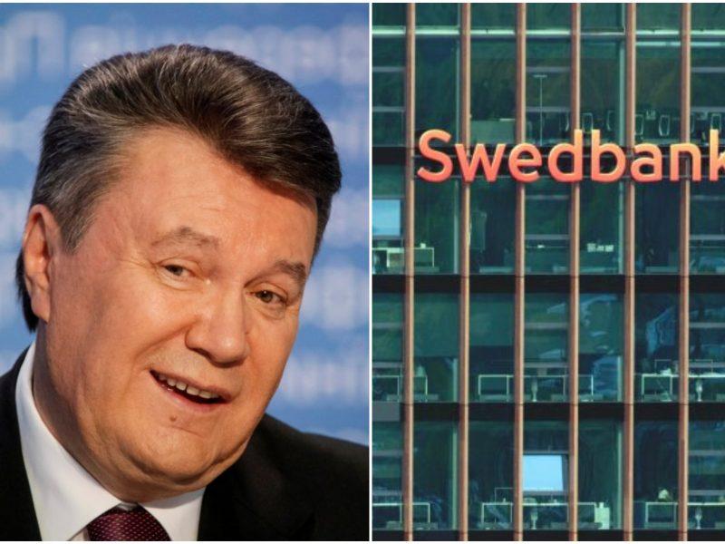 """Ukraina susigrąžino per Lietuvos """"Swedbank"""" keliavusius """"V. Janukovyčiaus milijonus"""""""