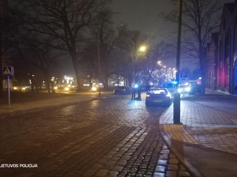 Praėjusią parą eismo įvykyje nukentėjo lengvojo automobilio vairuotoja