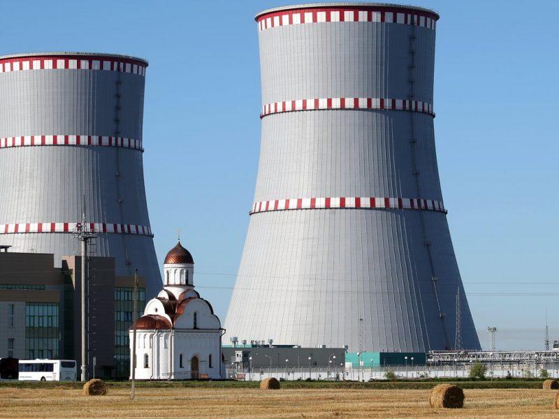 Baltarusija oficialiai nukelia Astravo AE statybos pabaigos terminą