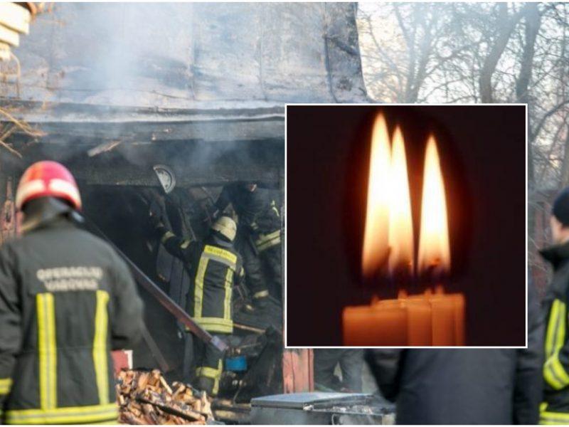 Skaudi nelaimė: Kretingos rajone gaisre žuvo žmogus