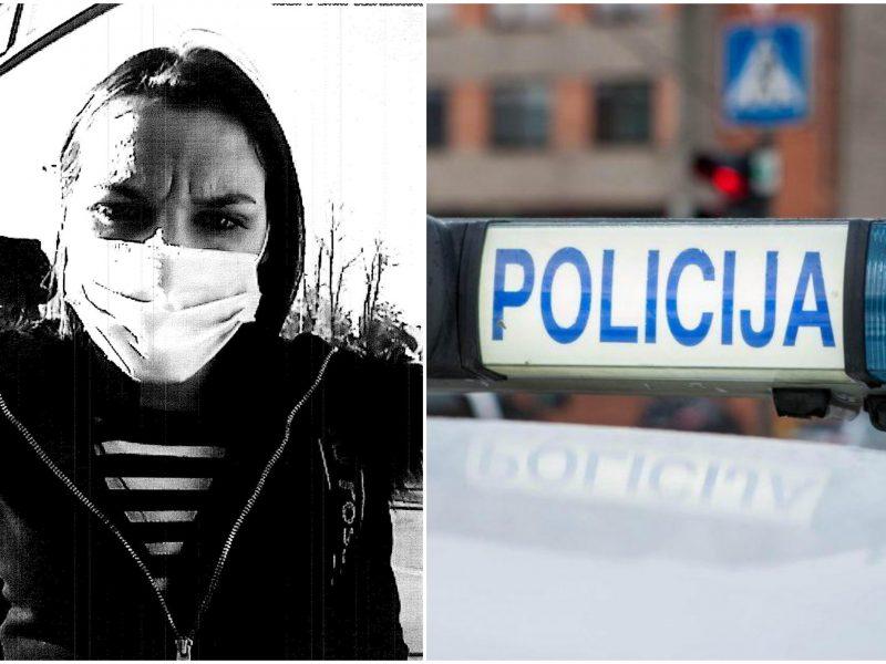 Marijampolės pareigūnai prašo visuomenės pagalbos: gal atpažįstate šią moterį?