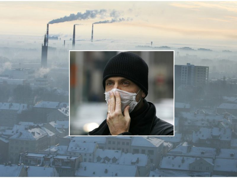 Klaipėdoje – padidėjusi oro tarša: rekomenduojama vengti buvimo lauke