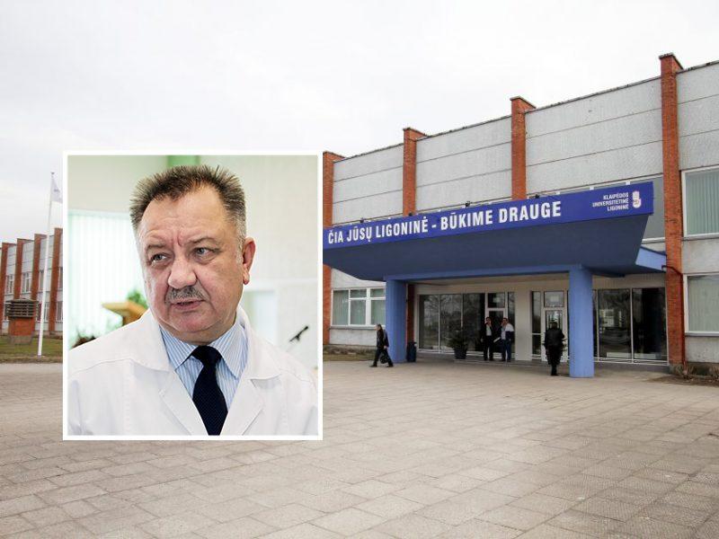 V. Janušonis pats nesitrauks: KUL nėra išskirtinė ligoninė dėl infekuotų medikų