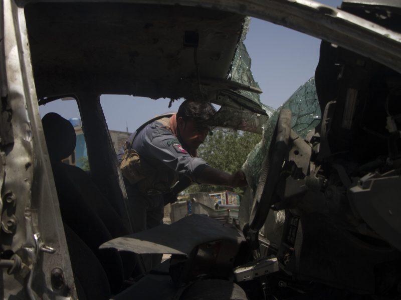 Afganistane per sprogimą sužalota mažiausiai 40 žmonių