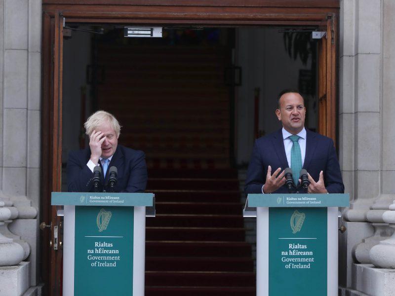 Airijos premjeras: ES vis dar nesulaukė britų pasiūlymų dėl Airijos sienos
