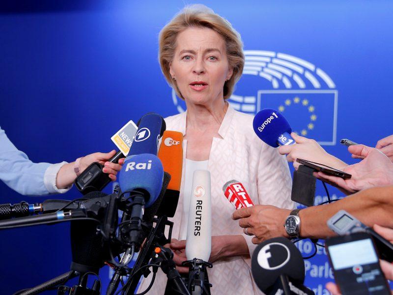 """Kandidatė į EK pirmininkus tikisi, kad Britanija atsisakys """"Brexit"""""""