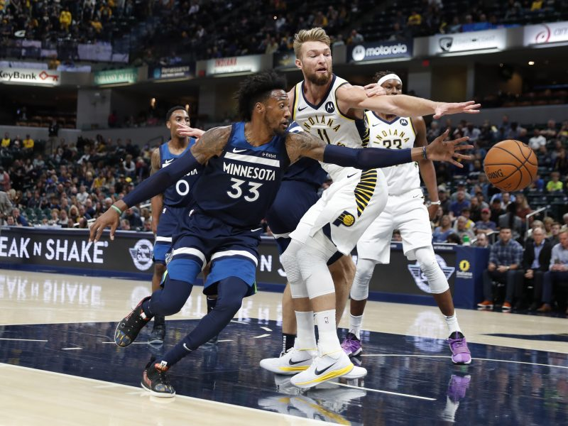 """D. Sabonis atliko dvigubą dublį, bet """"Pacers"""" patyrė nesėkmę"""