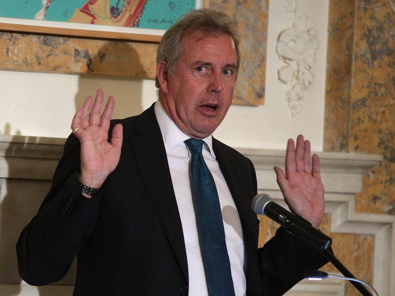 Iš pareigų traukiasi Didžiosios Britanijos ambasadorius JAV