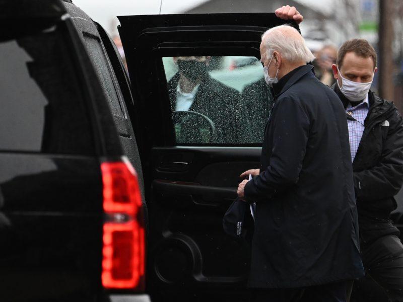 J. Bidenas ir D. Trumpas vyksta agituoti į Džordžiją prieš įtemptus senatorių rinkimus