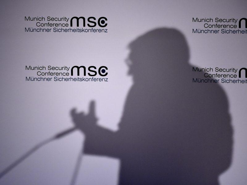 Prasidėjo Miuncheno saugumo konferencija: aptars svarbiausias problemas