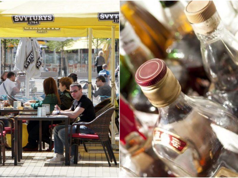 Seimas grąžino tobulinti A. Armonaitės siūlymus dėl prekybos alkoholiu lauko kavinėse