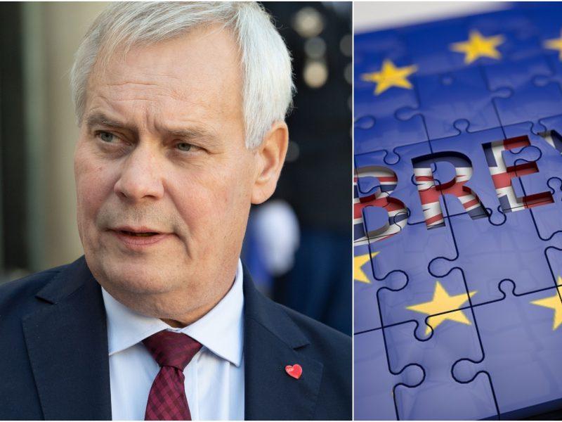 Suomijos premjeras: D. Britanija turi pateikti pasiūlymą iki mėnesio pabaigos