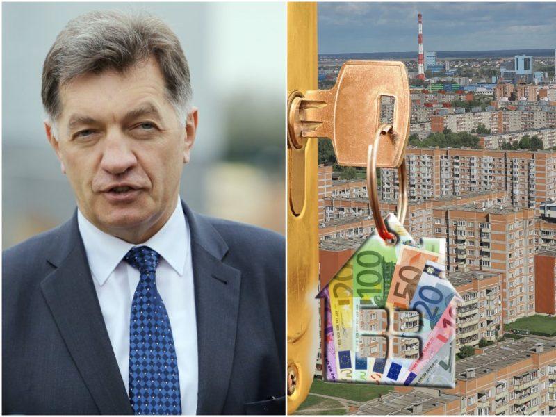 A. Butkevičius: nekilnojamojo turto mokestinę vertę reikia perskaičiuoti kasmet