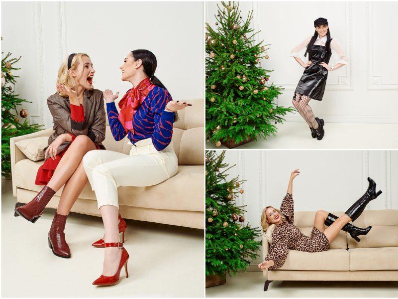 Žymios moterys pataria: keturi įvaizdžiai stilingam šventiniam vakarėliui