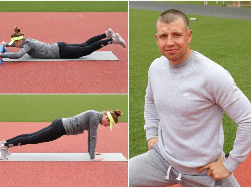 Laikas išsivaduoti iš karantino sąstingio <span style=color:red;>(viso kūno treniruotės programa)</span>