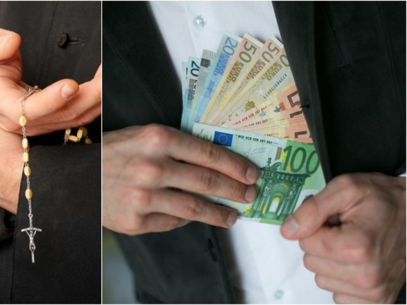 Troškūnų parapijos klebonas kaltinamas neteisėtu vertimusi finansine veikla