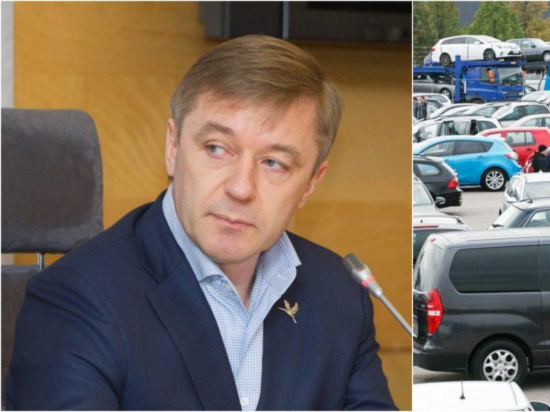 R. Karbauskis bando raminti: taršos mokestis lies ne visus automobilius