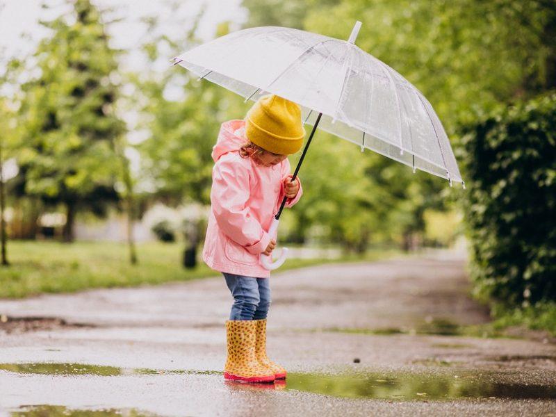 Orai: šiluma didės, bet ja mėgautis neleis lietus ir vėjas