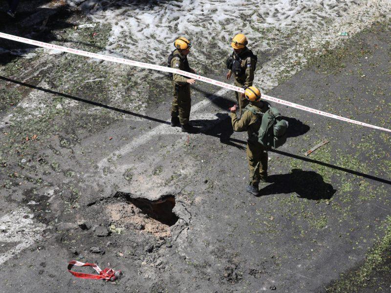 Izraelis: iš Gazos Ruožo paleista raketa sprogo prie Austrijos ambasados