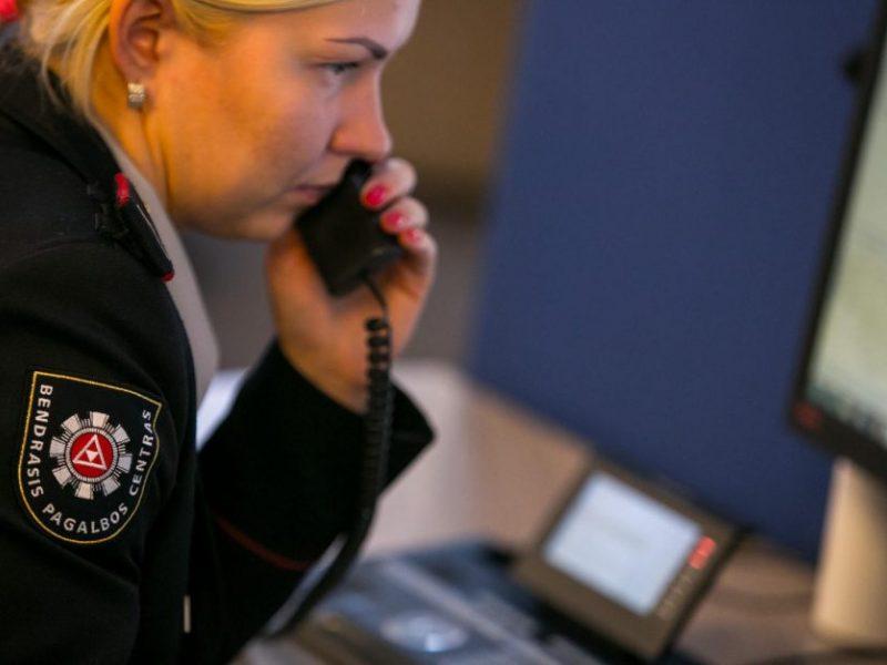 Bendrojo pagalbos centro statistika: daugiau nei pusė skambučių – be pagrindo
