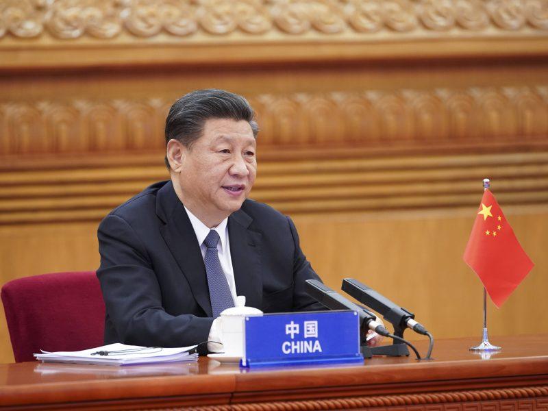 Xi Jinpingas: JAV ir Kinija turėtų susivienyti kovai su koronavirusu
