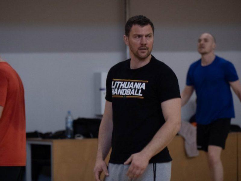 M. Andriuška paskelbė į Lietuvos rinktinę kviečiamų žaidėjų sąrašą