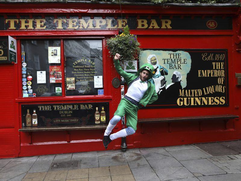 Airijoje dėl koronaviruso atšaukti Šv. Patriko dienos renginiai