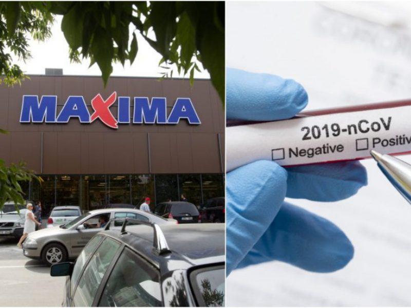"""""""Maximos"""" darbuotojai Ariogaloje nustatytas koronavirusas"""