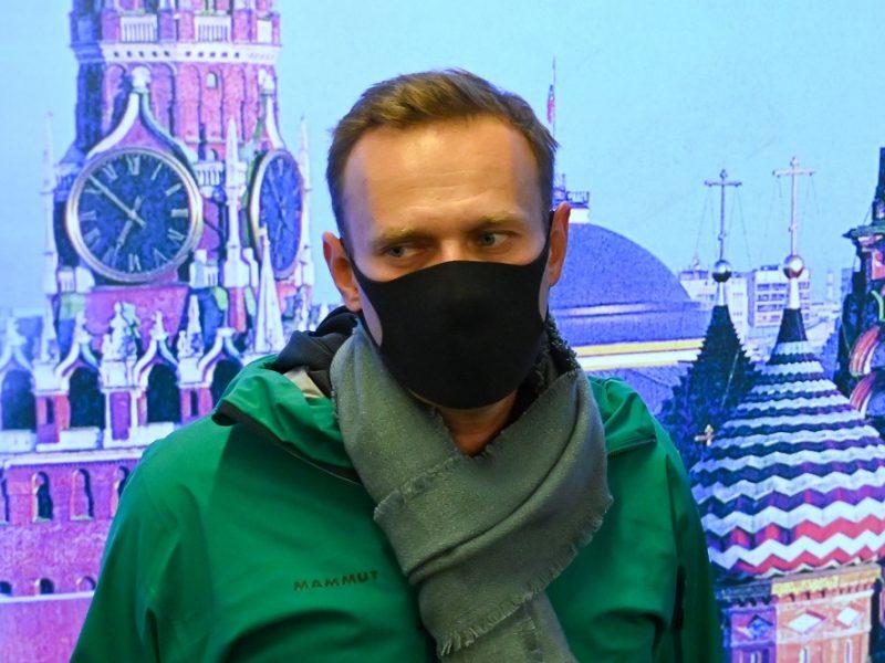 Maskvos teismas nurodė Kremliaus kritiką A. Navalną laikyti suimtą 30 dienų