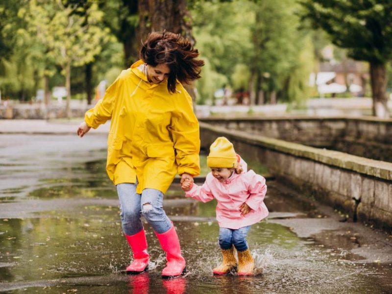 Orai: lietūs iš šalies nesitrauks, šils tik nuo savaitės vidurio