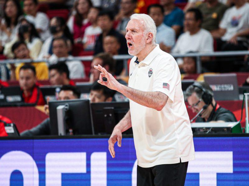 NBA komisarui – G. Popovichiaus komplimentai už drąsų komentarą