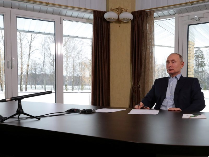 V. Putinas įvertino A. Navalno tyrimą: niekas, kas ten įvardinta kaip mano turtas, nepriklauso man
