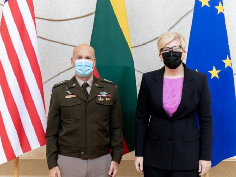 I. Šimonytė: JAV karinis buvimas Lietuvoje – viso regiono saugumo garantas