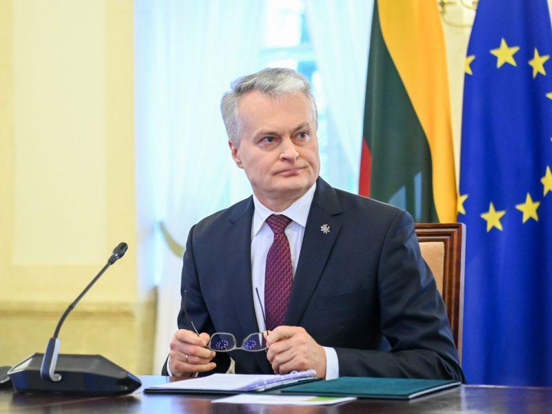 G. Nausėda: ES lyderiai turės nuodugniai įvertinti santykius su Rusija