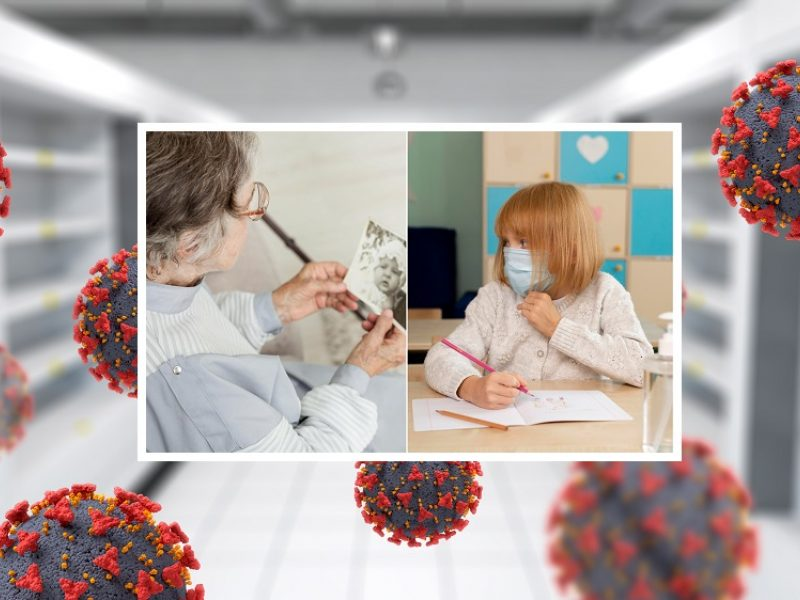 Nauji COVID-19 atvejai: epidemiologų akiratyje – socialinės globos namai, mokyklos