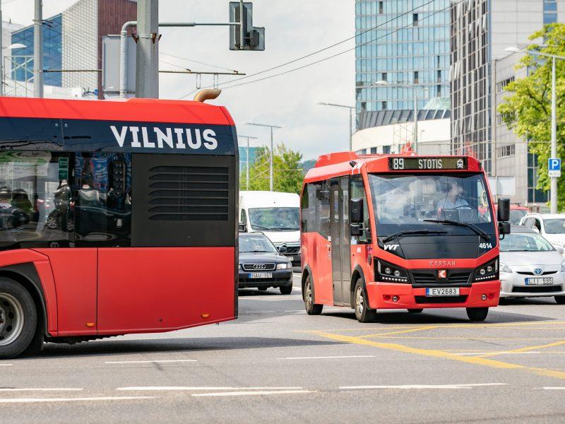 Vilnius plečia viešojo transporto paslaugas – planuojami nauji maršrutai ekologiškais autobusais