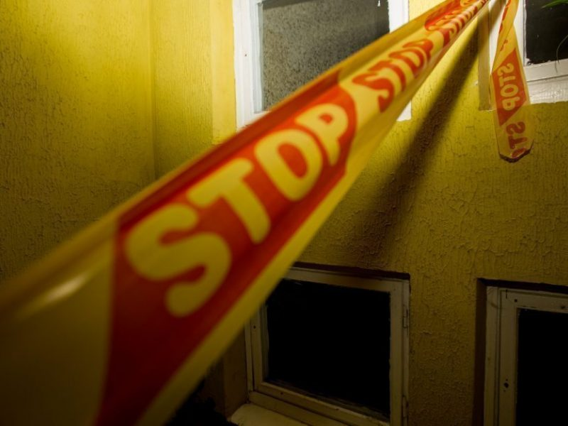 Vilniuje bute rastas negyvas vyras