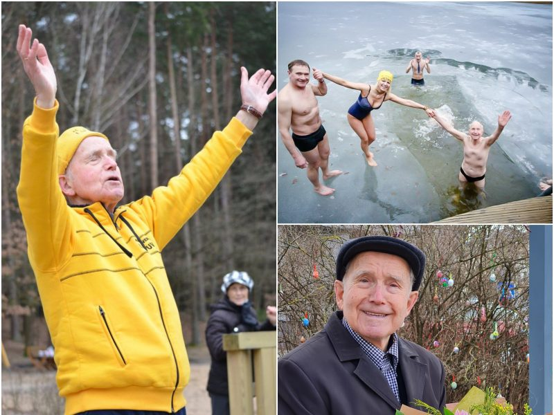 89-erių Vytautas apie sveiką gyvenseną: noriu, kad mano gyvenimas kuo ilgiau būtų kokybiškas