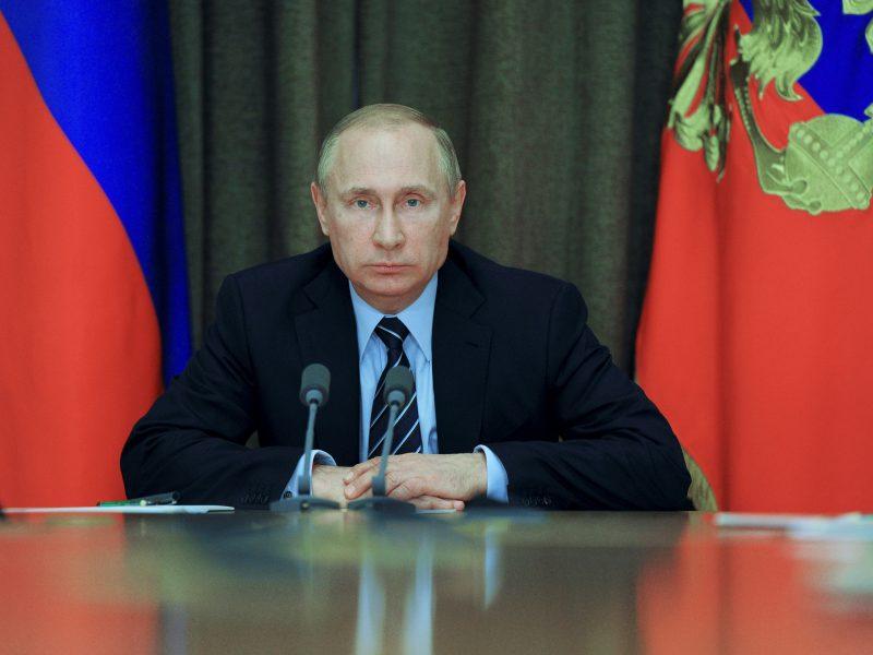 V. Putinas ragina mažinti įtampą Korėjos pusiasalyje