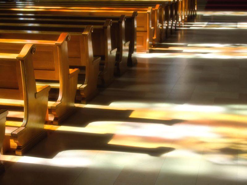 Vilniuje sulaikytas vyras, kėlęs neramumus bažnyčioje