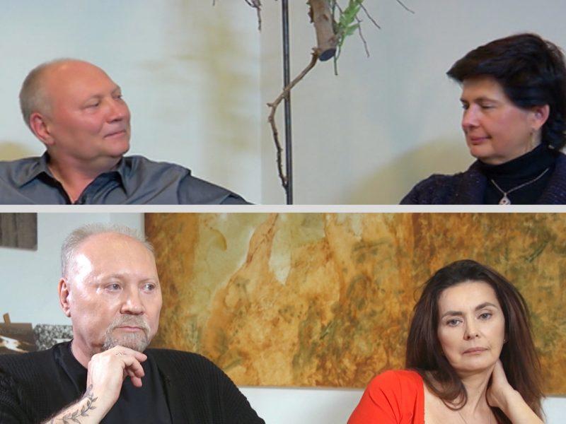 A. Ivanauskas-Fara su žmona Rima ruošiasi dar vienai plastinei operacijai