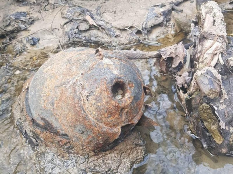 Aleksoto upelyje, įtariama, vėl rasta sprogmenų